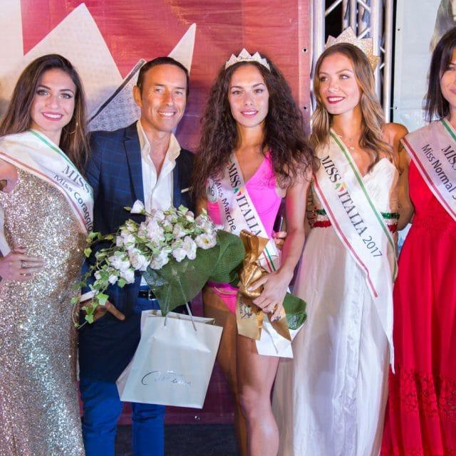 Foto finale regionale Marche Miss Italia 2018 a Pieve Torina