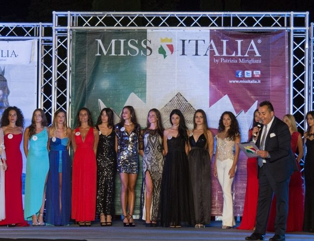 Finale Miss Italia Marche a Pieve Torina 23-08-18